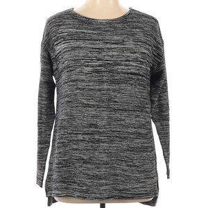 *Ellen Tracy Gray Heather XL Pullover Sweater